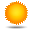 Weather forecast for today: sunny