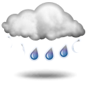Weather forecast for today: rain