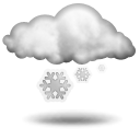 Wettervorhersage für Heute: Schneefall