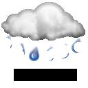 Wettervorhersage für Heute: leichter Regen