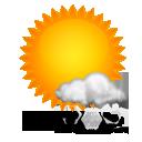 Wettervorhersage für Heute: teils leichter Schneefall