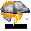 Wettervorhersage für Heute: teils Gewitter