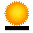 Wettervorhersage für Heute: Sonnenschein