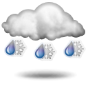 Weather forecast for today: sleet