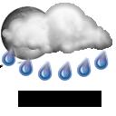 Wettervorhersage für Heute: teils starker Regen