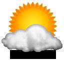 Wettervorhersage für Heute: teils sonnig
