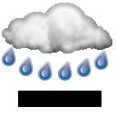 Wettervorhersage für Heute: starker Regen